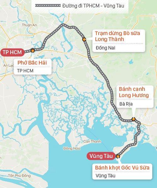 Danh sách các điểm dừng chân sạch sẽ, ăn ngon trên đường đi Sài Gòn Vũng Tàu - Ảnh đại diện