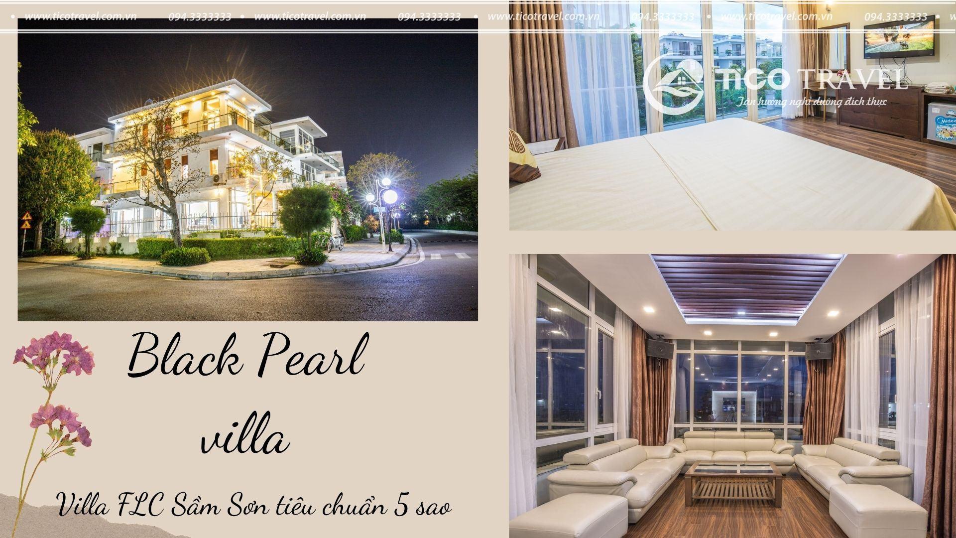ảnh chụp Black Pearl Villa FLC Sầm Sơn