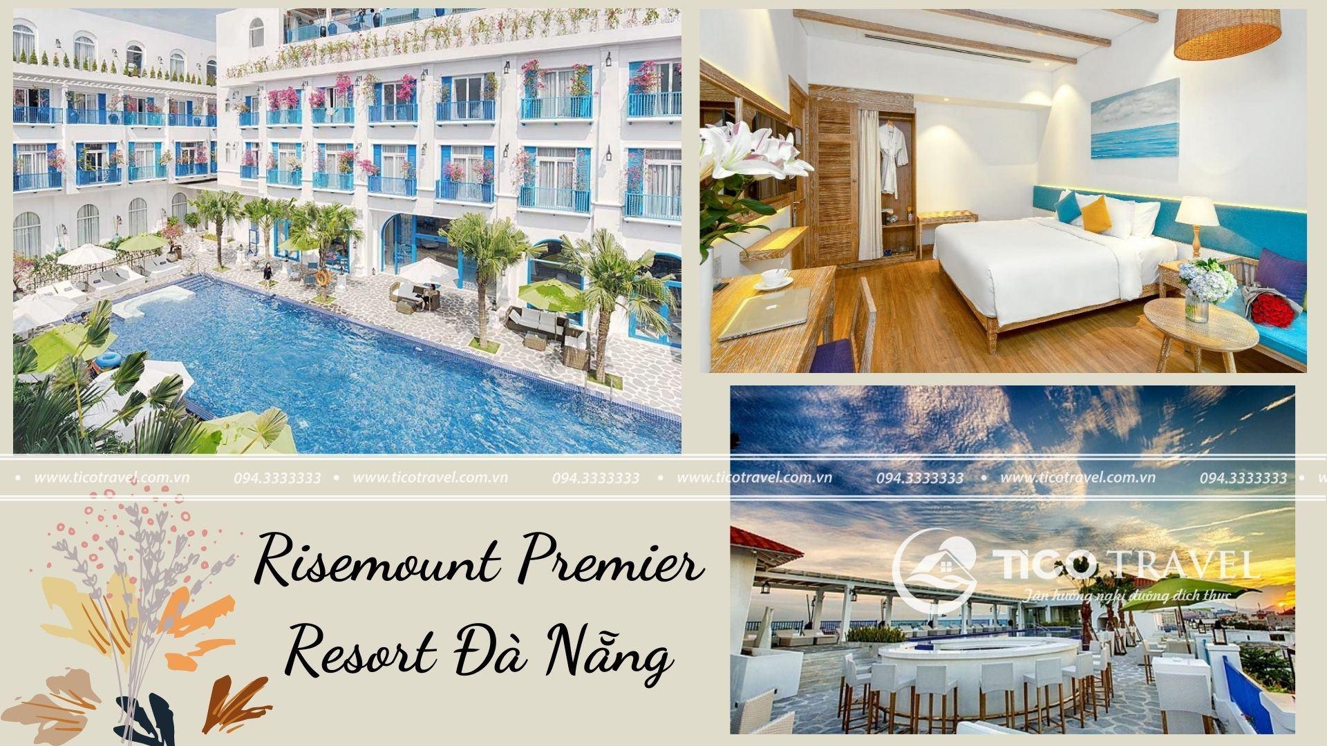 Ảnh chụp toàn cảnh tại Risemount Premier Resort Đà Nẵng